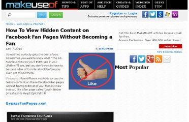 http://www.makeuseof.com/tag/view-hidden-content-facebook-fan-pages-fan/