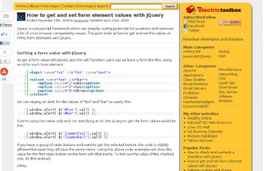 http://www.electrictoolbox.com/jquery-get-set-form-values/