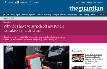 http://www.guardian.co.uk/technology/2012/aug/27/why-switch-off-kindle-takeoff-landing