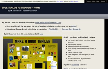 http://www.booktrailersforreaders.com/How+to+make+a+book+trailer