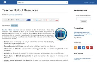 http://blog.edmodo.com/2011/10/24/teacher-rollout-resources/
