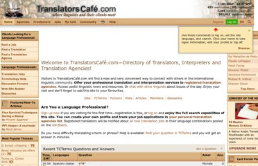 http://www.translatorscafe.com/cafe/default.asp
