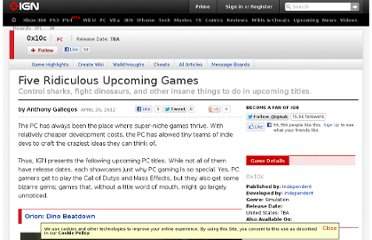 http://www.ign.com/articles/2012/04/21/five-ridiculous-upcoming-games