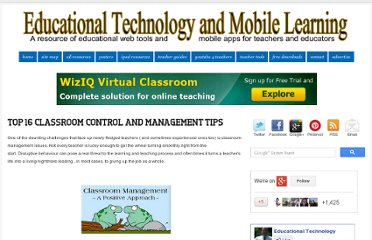 http://www.educatorstechnology.com/2012/08/class-management-tips.html