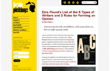 http://www.brainpickings.org/index.php/2012/08/28/ezra-pounds-types-of-writers/