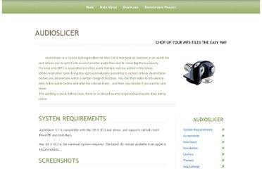 http://audioslicer.sourceforge.net/index.html#download
