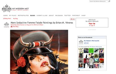 http://www.mymodernmet.com/profiles/blogs/seductively-dominating-vixen-paintings