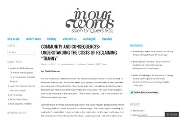 http://inourwordsblog.com/2012/03/14/community-and-consequences/