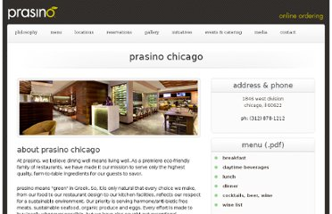 http://www.prasino.com/locations_chicago.html