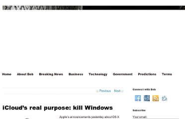 http://www.cringely.com/2011/06/07/iclouds-real-purpose-is-to-kill-windows/