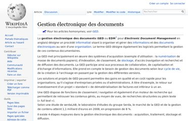 http://fr.wikipedia.org/wiki/Gestion_%C3%A9lectronique_des_documents