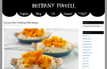 http://www.brittanypowell.com/food-i-make/coconut-rice-pudding-with-mango/
