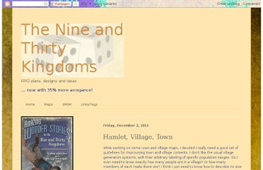 http://9and30kingdoms.blogspot.com/2011/12/hamlet-village-town.html