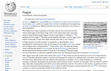 http://en.wikipedia.org/wiki/Fugue#Is_the_fugue_a_musical_form_or_texture.3F