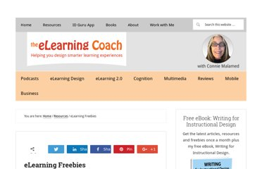 http://theelearningcoach.com/resources/elearning-goodies/
