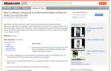 http://gps.about.com/od/gpsproductoverview/ht/How-to-Istall-Custom-POIs-Garmin.htm