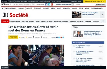 http://www.lemonde.fr/societe/article/2012/08/29/les-nations-unies-alertent-sur-le-sort-des-roms-en-france_1752934_3224.html