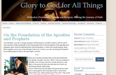 http://glory2godforallthings.com/2012/08/28/on-the-foundation-of-the-apostles-and-prophets/