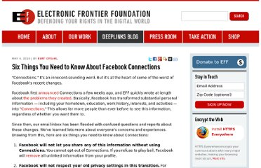 https://www.eff.org/deeplinks/2010/05/things-you-need-know-about-facebook