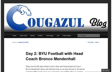 http://cougazul.wordpress.com/2012/08/29/day-2-ksl-sportsradio-coachs-show/