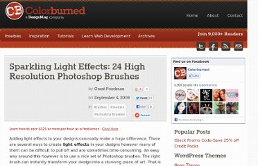 http://colorburned.com/sparkling-light-effects-24-high-resolution-photoshop-brushes/