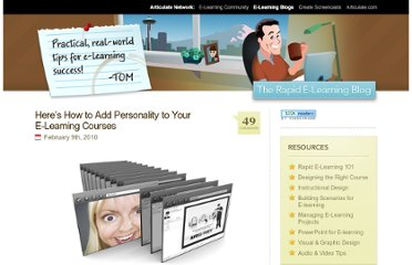 http://www.articulate.com/rapid-elearning/heres-how-to-add-personality-to-your-e-learning-courses/