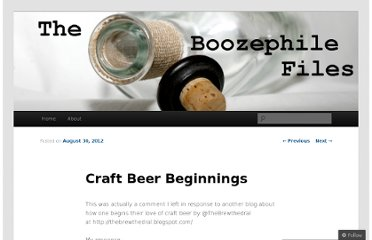 http://boozephile.wordpress.com/2012/08/30/craft-beer-beginnings/