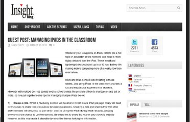 http://blog.insight.com/2012/08/guest-post-managing-ipads-classroom/