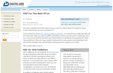 http://www.digital-web.com/articles/rdf_for_the_rest_of_us/