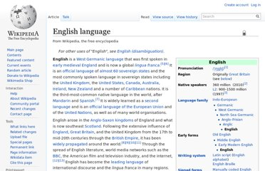 http://en.wikipedia.org/wiki/English_language