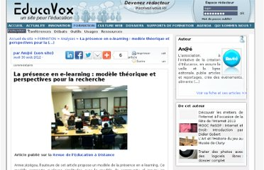 http://www.educavox.fr/formation/analyses-27/article/la-presence-en-e-learning-modele