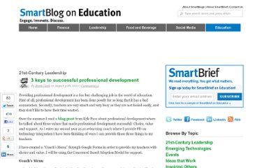 http://smartblogs.com/education/2012/08/30/3-keys-successful-professional-development/