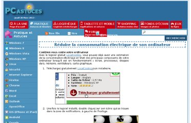 http://www.pcastuces.com/pratique/windows/consommation_ordinateur/page2.htm