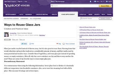 http://voices.yahoo.com/ways-reuse-glass-jars-6076932.html