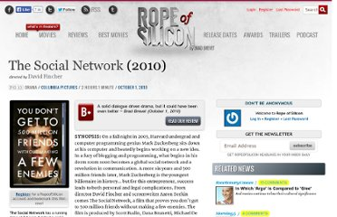 http://www.ropeofsilicon.com/movie/social-network/