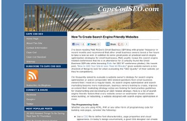 http://www.capecodseo.com/how-to-create-search-engine-friendly-websites/