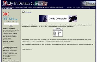 http://www.studyinbritain.com/info/grade_conversion.asp