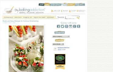 http://www.mybakingaddiction.com/quick-and-easy-recipes-for-summer-entertaining/