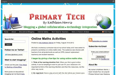 http://primarytech.global2.vic.edu.au/2012/08/31/online-maths-activities/