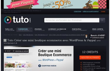 http://fr.tuto.com/wordpress/creer-une-mini-boutique-ecommerce-avec-wordpress-paypal-wordpress,34945.html