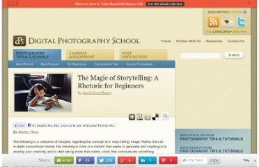 http://digital-photography-school.com/the-magic-of-storytelling-a-rhetoric-for-beginners#