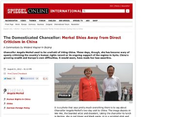 http://www.spiegel.de/international/world/german-chancellor-merkel-avoids-criticism-during-visit-to-china-a-853185.html