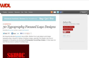 http://webdesignledger.com/inspiration/30-typography-focused-logo-designs
