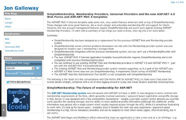 http://weblogs.asp.net/jgalloway/archive/2012/08/29/simplemembership-membership-providers-universal-providers-and-the-new-asp-net-4-5-web-forms-and-asp-net-mvc-4-templates.aspx