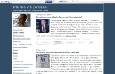 http://olivierbonnet.canalblog.com/archives/affaire_clearstream/index.html