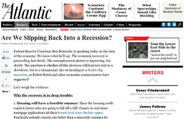 http://www.theatlantic.com/business/archive/2010/06/are-we-slipping-back-into-a-recession/57903/