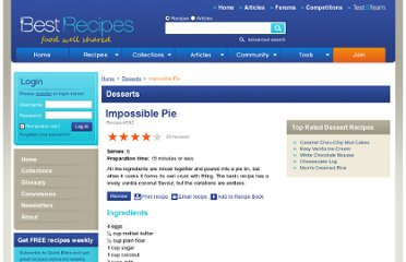 http://www.bestrecipes.com.au/recipe/impossible-pie-L592.html