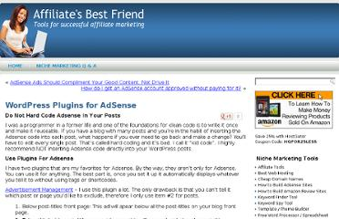 http://affiliatesbestfriend.com/wordpress-plugins-for-adsense/