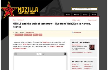 https://hacks.mozilla.org/2011/06/html5-and-the-web-of-tomorrow-live-from-web2day-in-nantes-france/