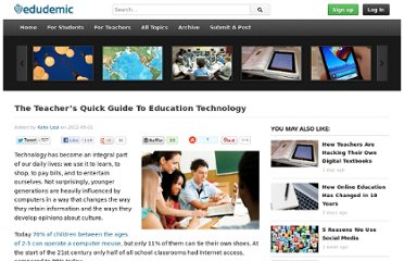 http://edudemic.com/2012/09/the-teachers-quick-guide-to-education-technology/
